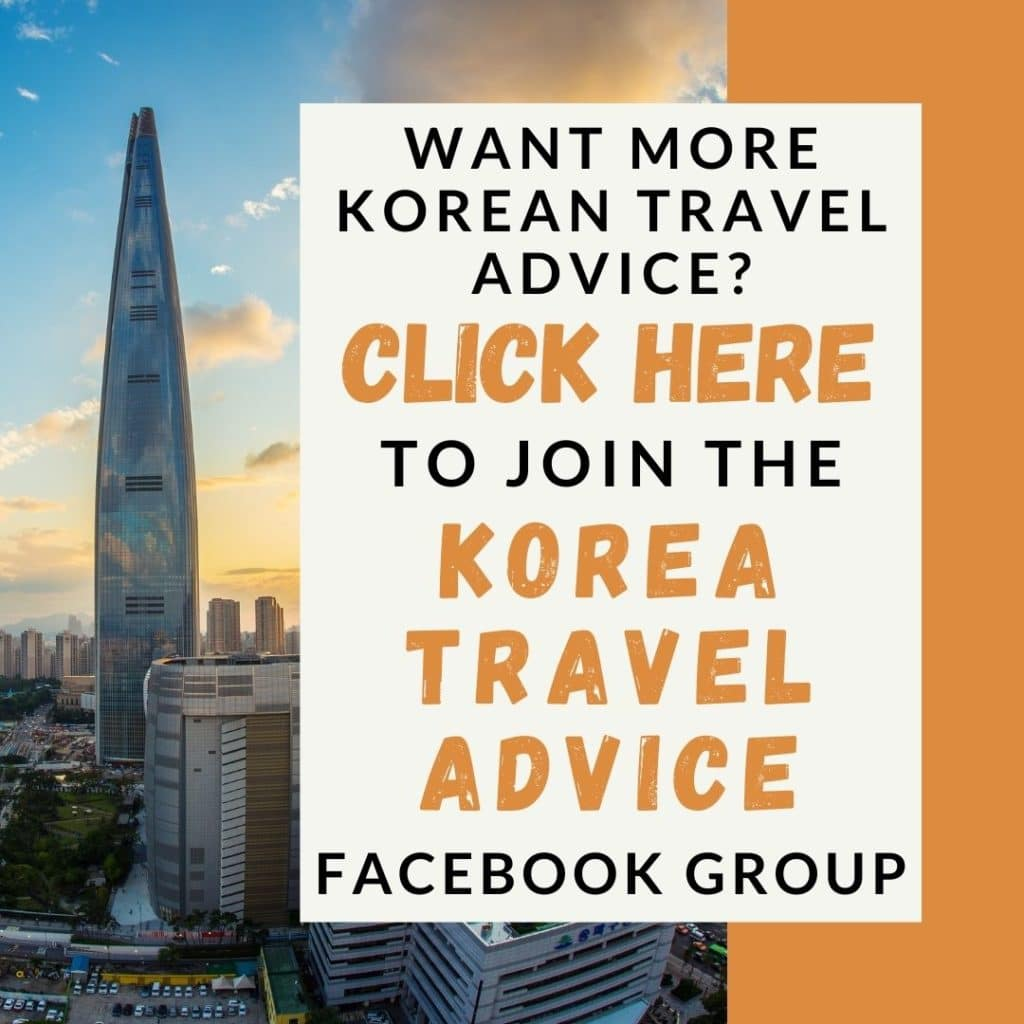 Korea Travel Advice Promo