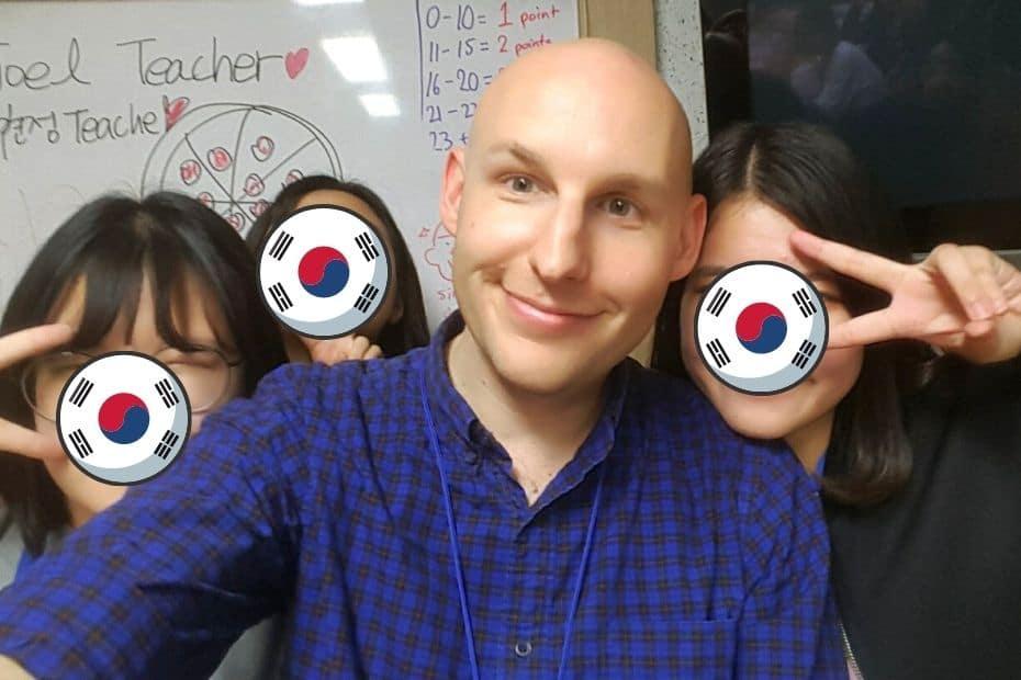 EPIK life memories of teaching Korean students