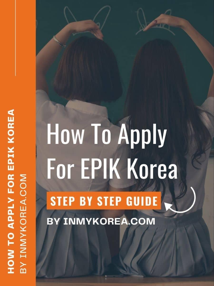 How To Apply For EPIK Korea Story Cover