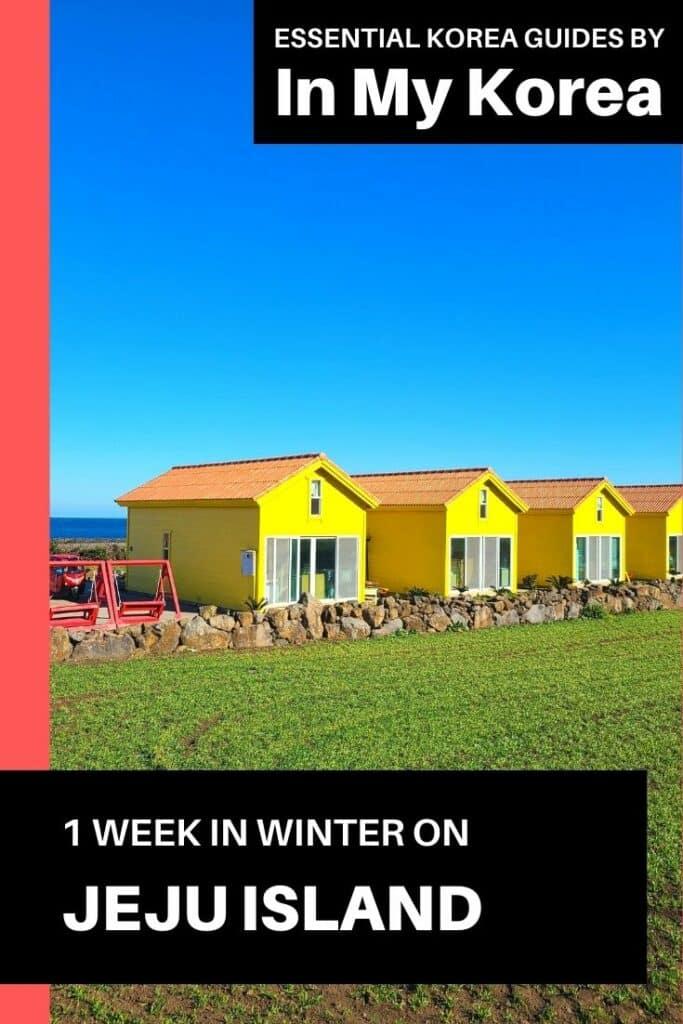 1 Week On Jeju Island in Winter Pin 3
