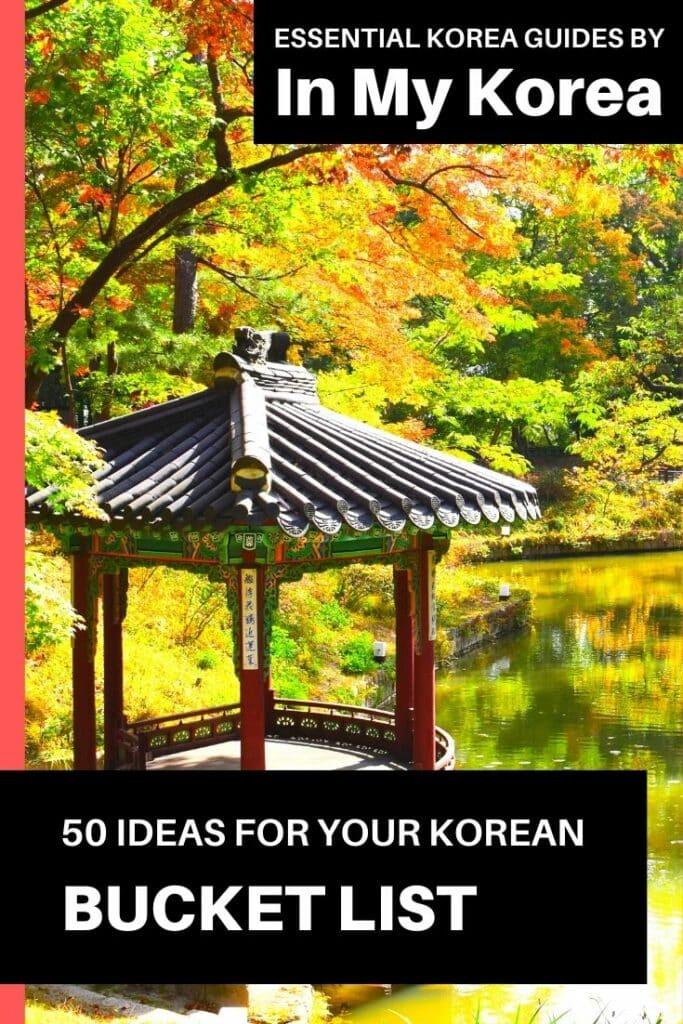 Unique Korean Experiences For Your Korea Bucket List 2