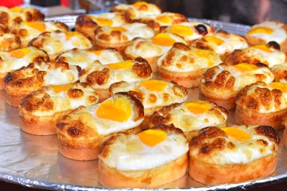 Eggy bread from Myeongdong is a Korea bucket list item