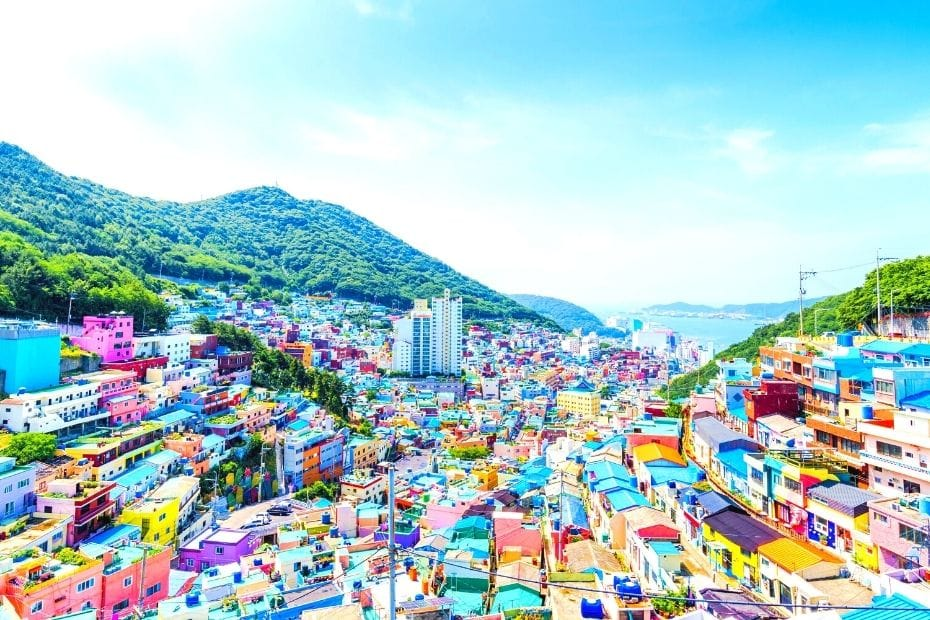 Gamcheon Cultural Village is one of the unique Korean experiences in Busan