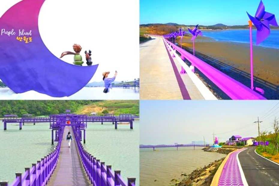 Purple Island in Korea is a real Korea bucket list item