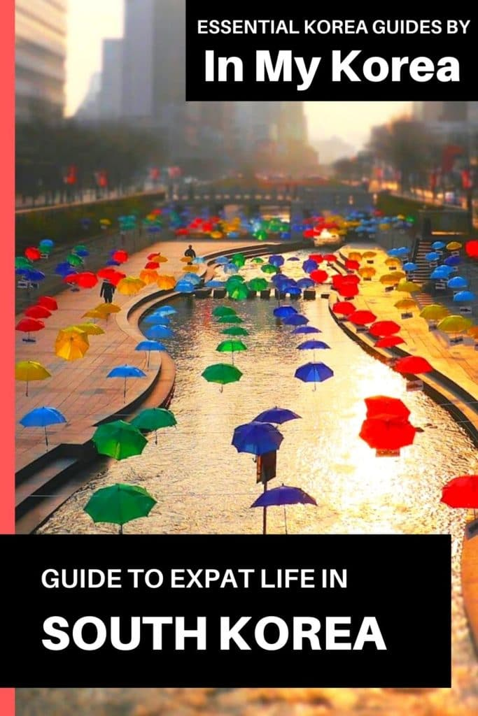 Expat Life In Korea: A Guide To Living In Korea As An Expat Pin 1