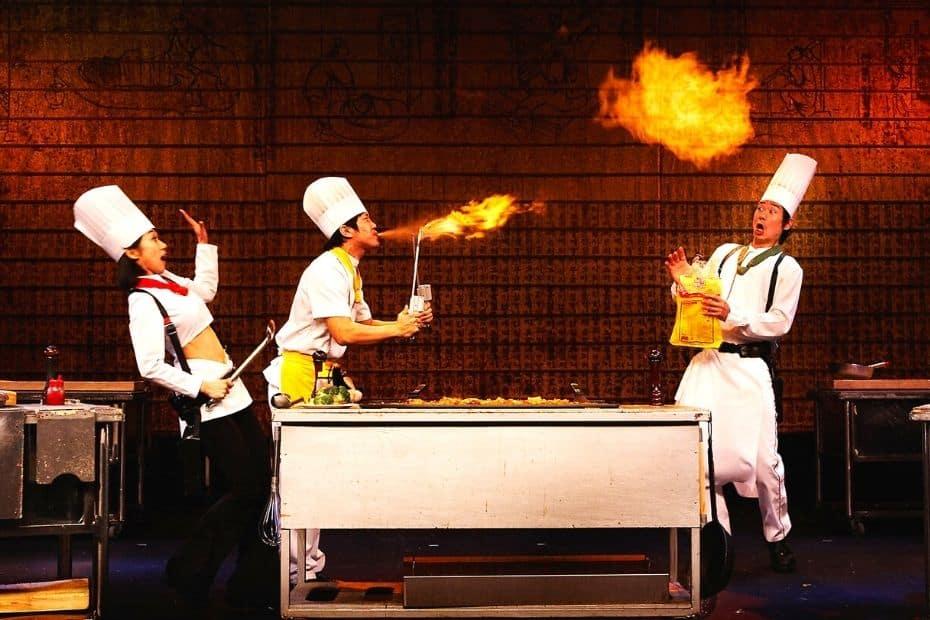 Nanta Cooking Musical In Seoul
