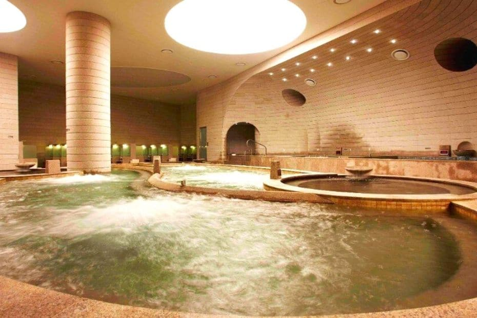 A Korean sauna is the perfect indoor activity in Seoul