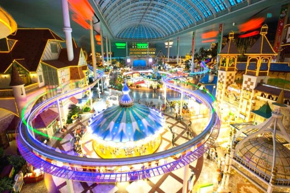 Lotte World Adventure is a great indoor activity in Seoul