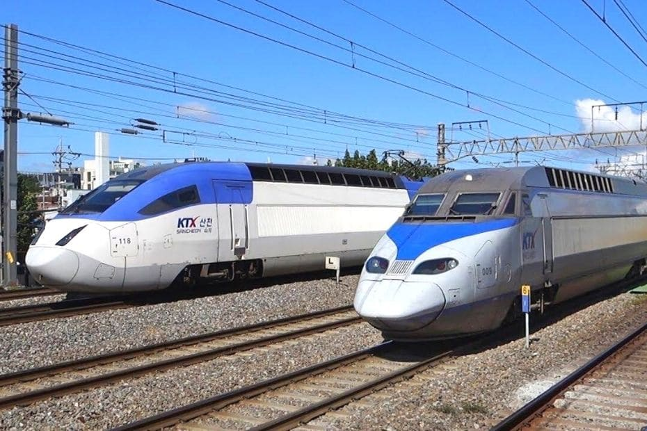 KTX Trains in Korea