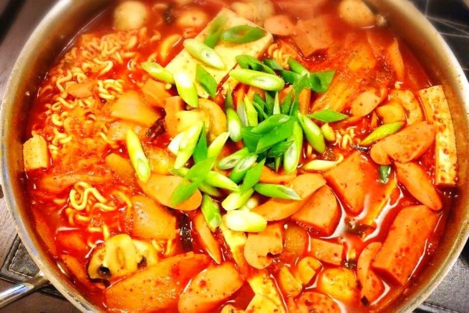 Budae Jjigae Army Stew
