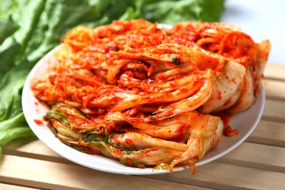 Korean traditional kimchi