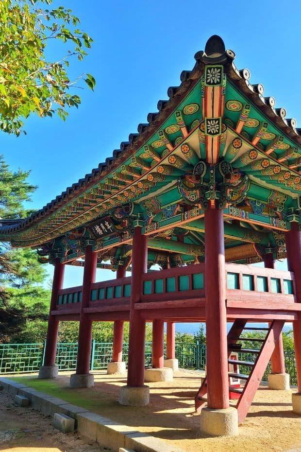 View of Yeongillu Pavilion inside Busosanseong Fortress, Buyeo