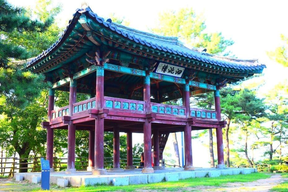 Salaju Pavilion in Busosanseong Fortress, Buyeo