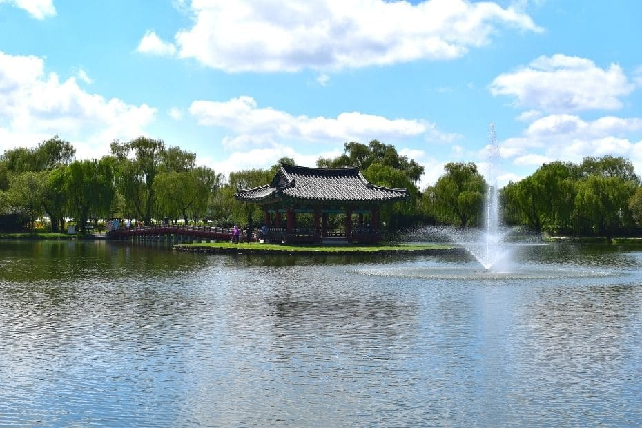 Gungnamji Pond, one of the best things to do in Buyeo