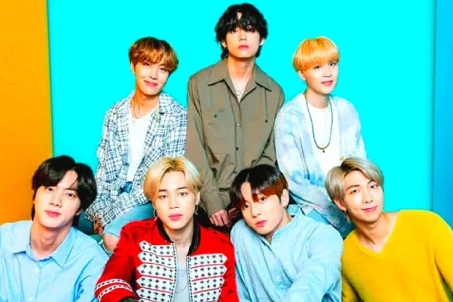 BTS, one of Korea's biggest bands