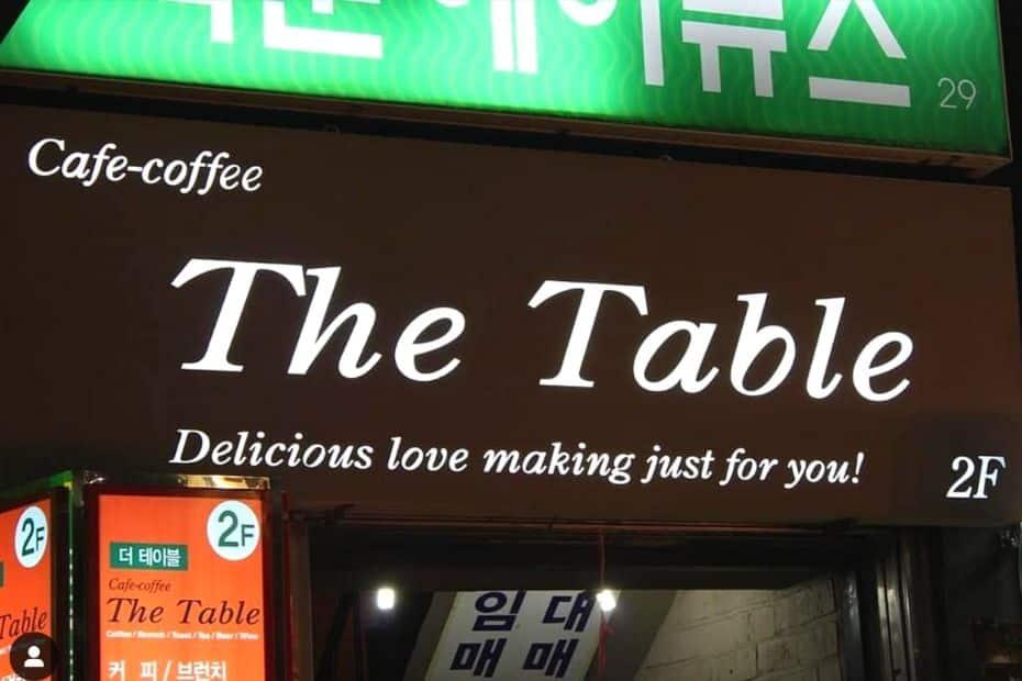 Inappropriate Korean restaurant description