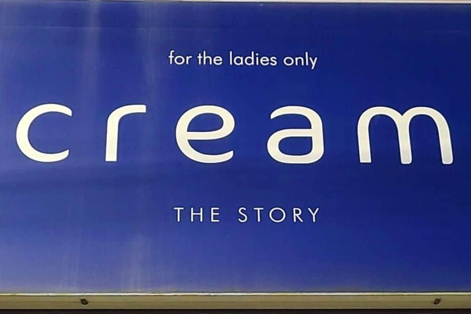 Strange Korean Sign Cream Story